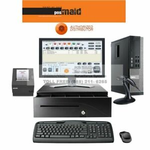 Liquor Convenience Store Pos Complete System With Retail Maid Software 4gb Ram