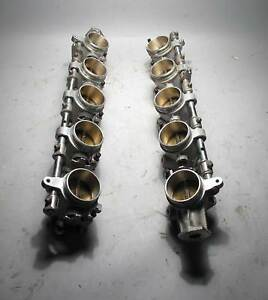Bmw S85 V10 M5 M6 Itb Independent Throttle Body Set Complete 2006 2010 Used Oem