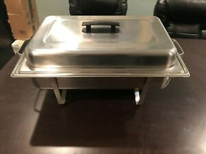 8 Quart Chafing Dish And 12 Pack Of Fuel