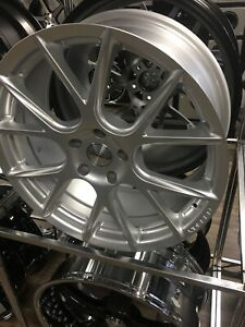 Vossen Vfs6 Staggered 20x8 5 20x10 5x112 Silver Wheels Rims Vfs6 0m11