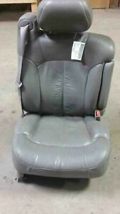 2000 Silverado Passenger Front Seat Rh Shale Pewter Leather Power Heated Tested