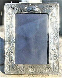 Superb English Hallmarked Picture Photo Frame Sterling Silver 1990 7 3 X 5 5