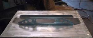 Jeep Tj Yj Front Winch Plate 1 4 Thick