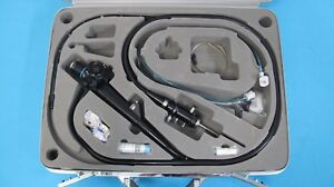 Olympus Tjf 10 Video Duodenoscope Fiber Optic Endoscope With Access