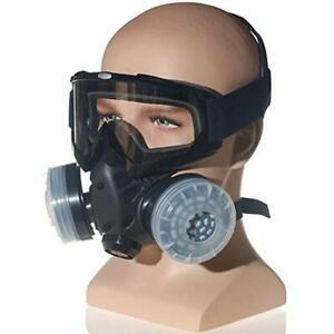 Safety Masks Anti dust Paint Respirator Reusable Face Goggles Set