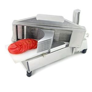 Commercial Grade Tomato Slicer Chopper Cutter Kitchen Stainless Steel Vegetable