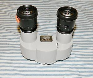 Carl Zeiss F 125 Surgical Microscope Binocular With 12 5 X Lenses