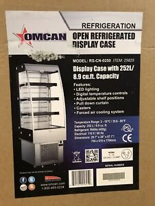 Omcan Open Refrigerated Display Case