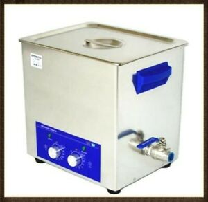 10 Litre Pcb Industrial Ultrasonic Cleaner With Timer Heater