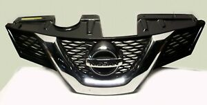 2014 2015 Nissan Rogue Front Chrome Grille With Emblem Oem