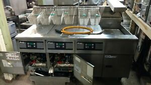 Pitco 3 Well Fryer