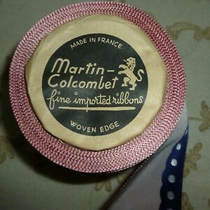 Roll Antique French Millinery Ribbon