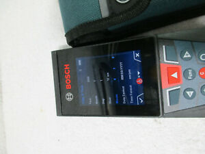 Bosch Glm400c Blaze 400ft Bluetooth Laser Measure W camera Viewfinder
