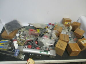 Huge Lot Of Assorted Electrical Parts Accessories Switch Transformer Actuator