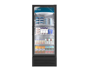 Pro kold 12cft Commercial Refrigerator Single Glass Door Display Vc 12