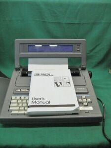 Smith Corona Personal Word Processor Typewriter Pwp3 Manual Tested Guaranteed
