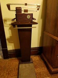 Vintage Fairbanks Morse Co Valet Doctor S Art Deco Antique Scale Model 6341