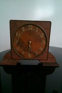Very Old Rotherhams Clock Rotherhams English Movement Still Works Well