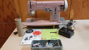 Necchi Nora Sewing Machine Heavy Duty Leather Upholstery Denim Serviced