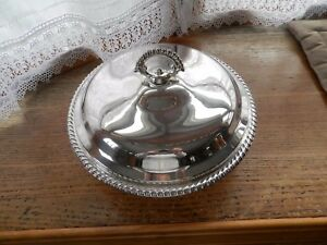 Rogers Silver Plate Covered Serving Bowl 10 1 4
