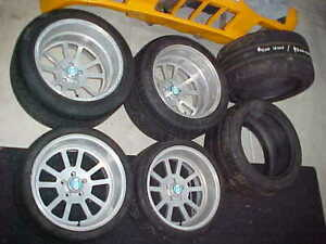 Detomaso Pantera Wide Body Gt5 17 Wheels Tires New Center Caps Bonus Tires