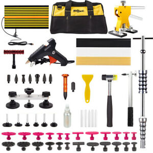 Dent Puller Lifter Repair Hammer Tools Paintless Removal Glue Led Line Board
