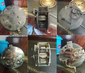 Professional Full Strip Clean Oil Service For Antique French Clock Movement