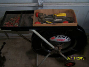 Signode Banding Cart Df 7a With Crimper Tensioner And Clips