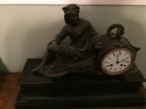 Antique 19th Century French Clock 1930 S Local Delivery Only Price