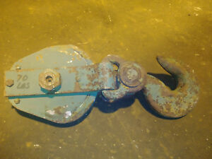 10 Ton Sherman Reilly Snatch Block 5 8 Wire Rope