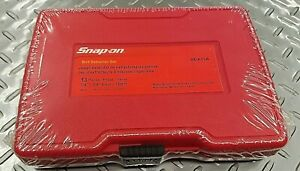 Snap On 13 Pc Bolt Extractor Set New Sealed In Plastic Snap On Bex13a