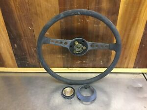 Fiat 850 Sport Steering Wheel For Parts F2211