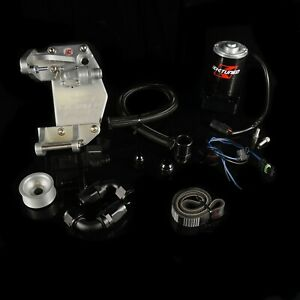K tuned K series Water Plate Complete Kit W Electric Pump K20 K24 Kwp tb 405