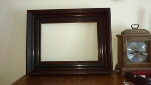 Antique Victorian 4 Deep Walnut Picture Frame 1870 S Large 21 X 26 Aesthetic