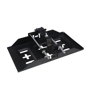 Metal Universal Car Storage Battery Holder Stabilizer Tray Hold Down Clamp Kit