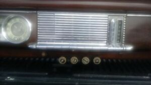 1948 Packard Dash Board Made Into A Wall Unit For Man Cave