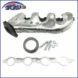 Exhaust Manifold Gasket Kit Passenger Right For Gmc Chevy Saab V8