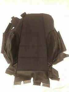 Bmw E46 Convertible Cloth Leather Seat Backrest Cover Genuine 52108255514