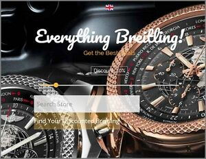Breitling Watch Website Earn 1 050 A Sale free Domain free Hosting free Traffic