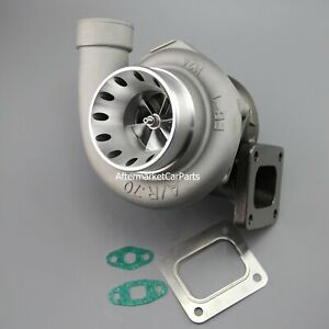 Billet Compressor Wheel 70 A r T4 Flange 68 A r Turbine 3 V band Oil Turbo Us