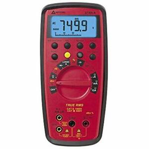 37xr a Multi Testers True Rms Digital Multimeter With Component Logic Data