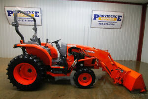 2016 Kubota L3560 Hst Tractor Loader Open Rops 37hp 4x4 Cruise Control