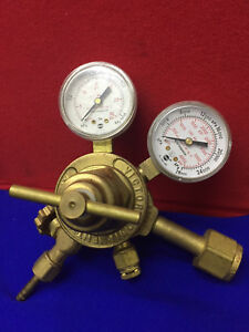 Victor Equipment Model 7 0155 Gas Regulator Gauge Cga 320 Sn Mh72176