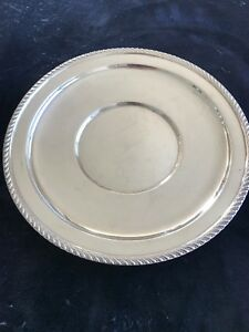 Sterling Silver Tray Platter Plate Large By P S Co