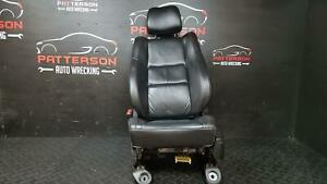2016 Jeep Grand Cherokee Front Driver Left Power Leather Black Seat X9