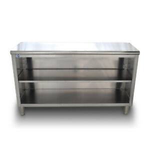 Stainless Steel Dish Cabinet 16 X 48 Free Freight