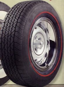 Bfg P225 60r14 Radial T A With 3 8 Redline Tire Need Year Model Of Your Car 76