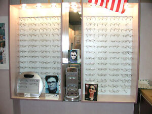 Eyeglass Display Cabinet