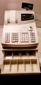 Sharp Xe a20s Electronic Cash Register With Keys And Manual