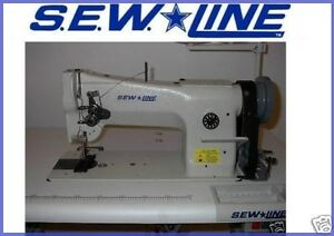 Sew Line Sl 206 rb New Leather Walking Foot 110v Servo Industrial Sewing Machine